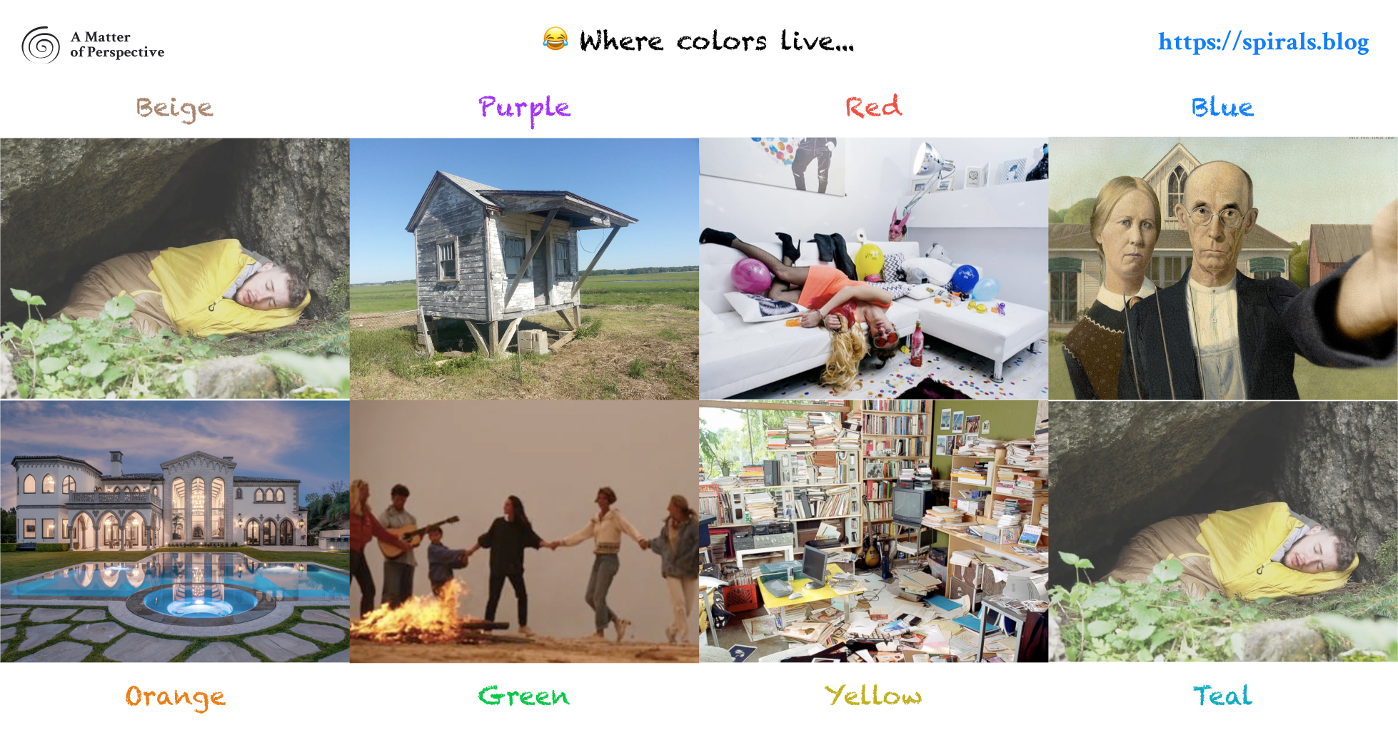 Where colors live